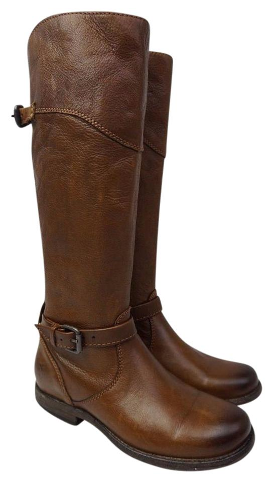 Frye Frye Frye Brown Phillip Tall Riding Leather Boots/Booties 876b39
