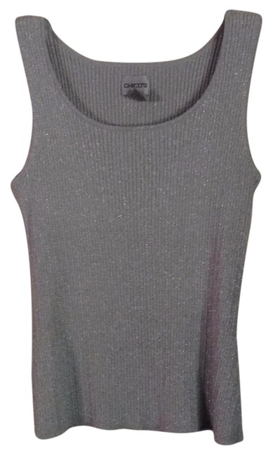 Preload https://img-static.tradesy.com/item/20522352/chico-s-silver-gray-night-out-tank-topcami-size-6-s-0-1-650-650.jpg