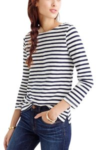J.Crew T Shirt White & Navy