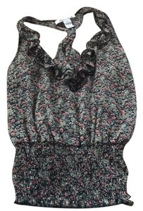 American Rag Top Black and floral