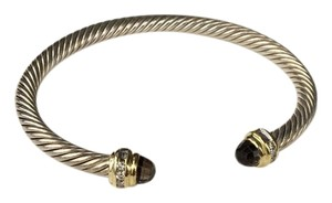David Yurman David Yurman Cable Classics Bracelet w/ Albion,Diamonds, and Gold 5mm