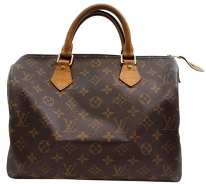 Louis Vuitton Lv Speedy 30 Monogram Handbag Tote