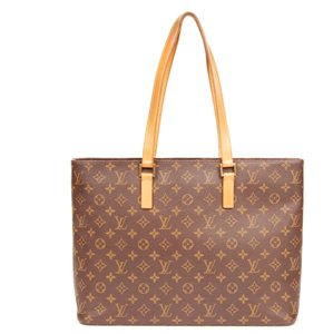 Louis Vuitton Luco Monogram Tote in Brown