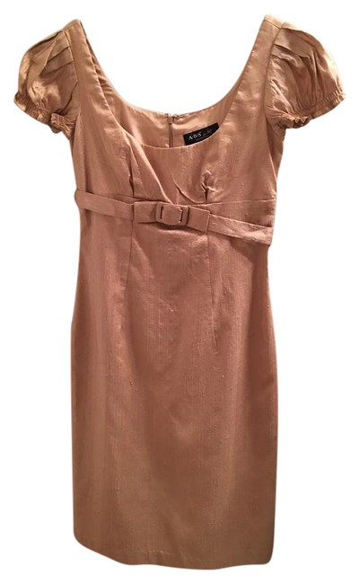 Preload https://img-static.tradesy.com/item/20522949/abs-by-allen-schwartz-gold-abs-collection-mid-length-cocktail-dress-size-2-xs-0-1-650-650.jpg