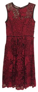 Adrianna Papell Lace Floral Dress
