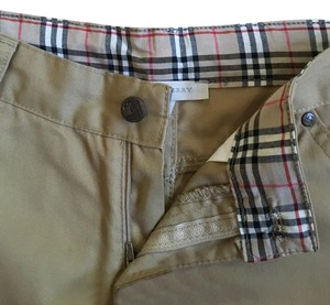 Burberry Straight Pants tan