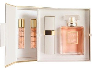 Chanel Chanel Coco Mademoiselle Edp 50ml and Refillable spray limited edition