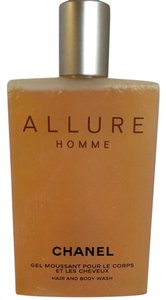 Chanel NEW Rare CHANEL ALLURE HOMME Gel Moussant HAIR BODY WASH GEL 6.8oz