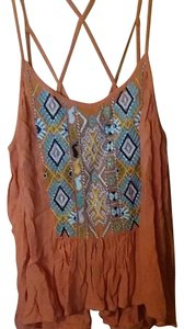 Urban Outfitters Peach Halter Top