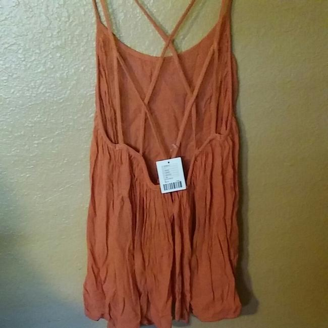 Urban Outfitters Peach Halter Top Image 1