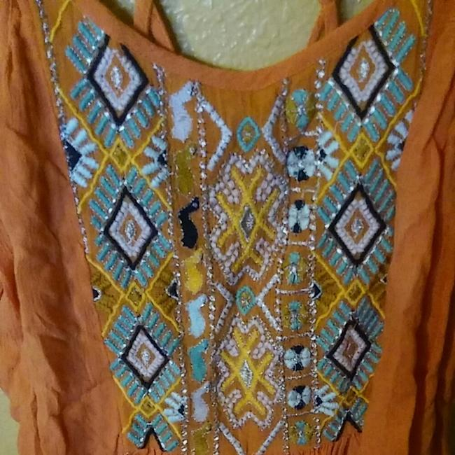 Urban Outfitters Peach Halter Top Image 3