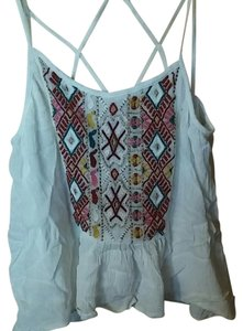 Urban Outfitters White Halter Top