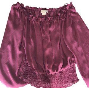 Michael Kors Top satin purple