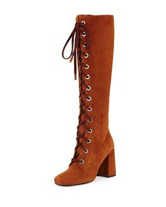 Prada brown caramel Boots