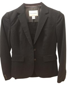 Banana Republic Black Skirt Suit Set - size 0P
