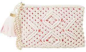 Lilly Pulitzer Resort White Clutch