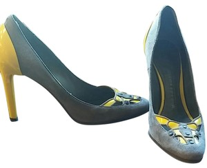 Proenza Schouler Yellow and grey Pumps