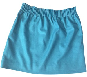 J.Crew Mini Skirt Teal