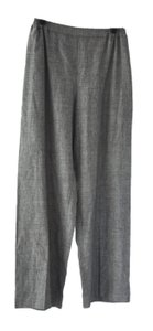 Eskandar Wool Linen Size 1 Relaxed Pants Gray