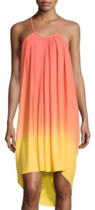 Young Fabulous & Broke short dress Yellow and Orange ombre on Tradesy
