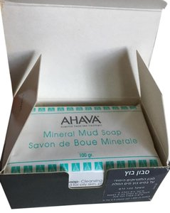 AHAVA AHAVA Dead Sea Mineral Salt Mudd Soap 100gr new in box