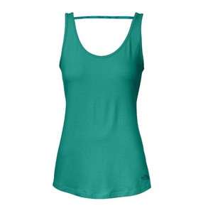 The North Face The North Face teal on the go basic tank top