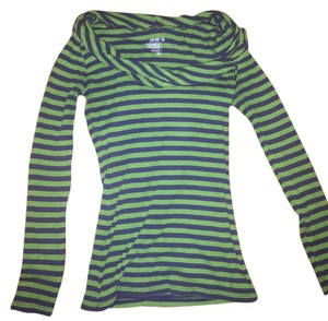 Old Navy Top Green and Navy