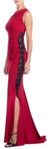 Escada Couture Gown One Shoulder Beaded Dress