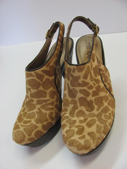 Me Too New Animal Design Size 9.00 M Leather Excellent Condition Brown, Neutral, Boots Image 2