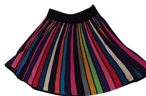 French Connection Mini Skirt Multi / black