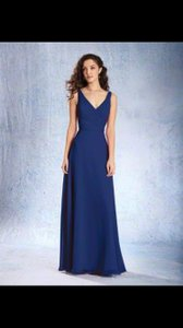 Alfred Angelo Navy Blue Alfred Angelo Style 7359l Dress