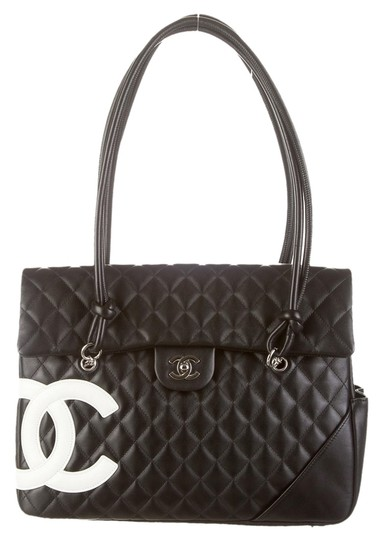 92623e19e09e Chanel Cambon Flap Tote. Buy Chanel Cambon Flap Tote Quilted Leather Large  ...