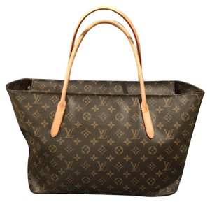 Louis Vuitton Raspail Gm Gently Used Tote in brown monogram