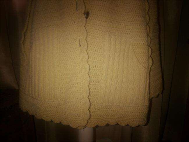 Hand Made Shawl Vintage Knit Cape Image 4