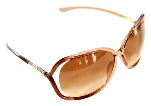 Tom Ford Yellow-Brown Whitney Sunglasses