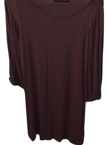 Hourglass Lilly short dress brown on Tradesy