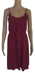 Old Navy short dress WINE BERRY on Tradesy