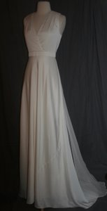 J.Crew J.crew Lana Gown Size 0 Ivory Wedding Dress