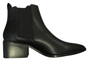 ASOS Pointed Toe Ankle Black Boots