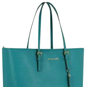 Michael Kors Tote in Turquoise blue