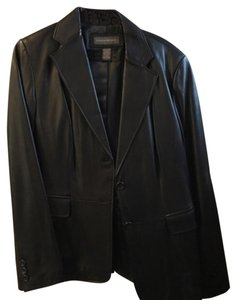 Banana Republic black Leather Jacket