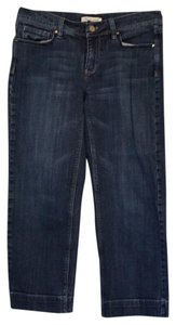 White House | Black Market Capri/Cropped Denim-Medium Wash