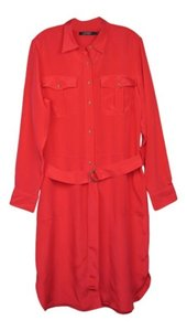 Ralph Lauren short dress Deco Coral on Tradesy