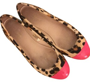 Kate Spade leopard and pink Flats