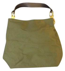 Jean-Pierre Klita for Antiprima Nueve Green Easy To Clean Gold Fall All Season Shoulder Bag