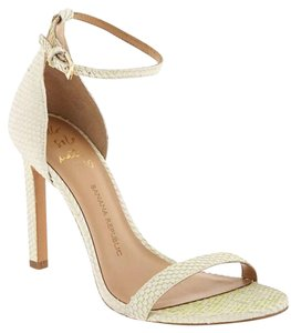 Banana Republic Holland Strappy white Sandals