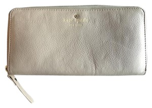 Kate Spade Wallet Like New Grey Clutch
