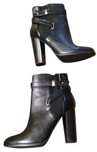 ALDO Buckle Ankle Black Boots