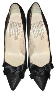 Pedro Garcia Black glitter Pumps