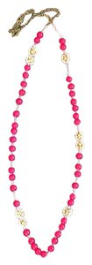Anthropologie Colorful Threaded Necklace